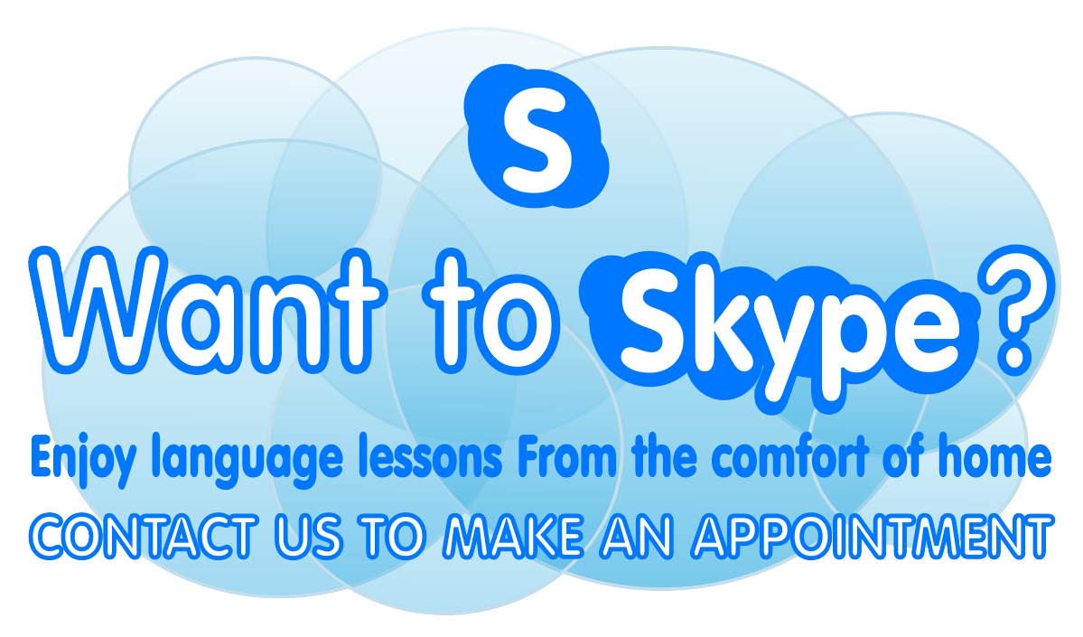 Want to Skype Make and Appointment